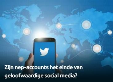 Zijn nep-accounts het einde van geloofwaardige social media?
