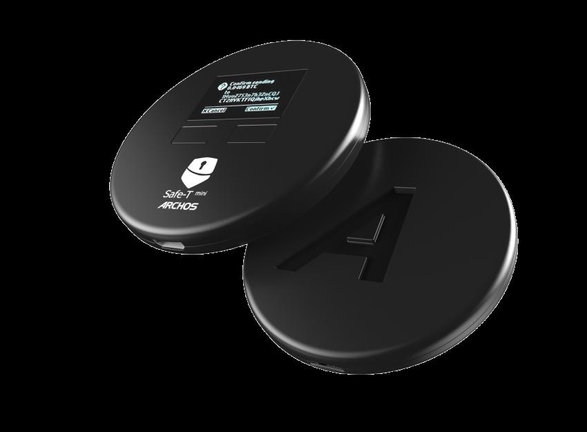 ARCHOS Safe-T mini: eerste ARCHOS hardware portemonnee voor cryptocurrency