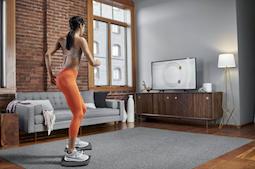 Nieuwe balance boards combineren fitnesstraining met interactieve fun