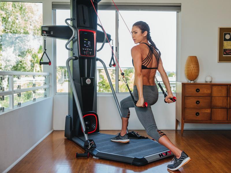 Allereerste fitnessapparaat dat cardiotraining combineert met krachttraining