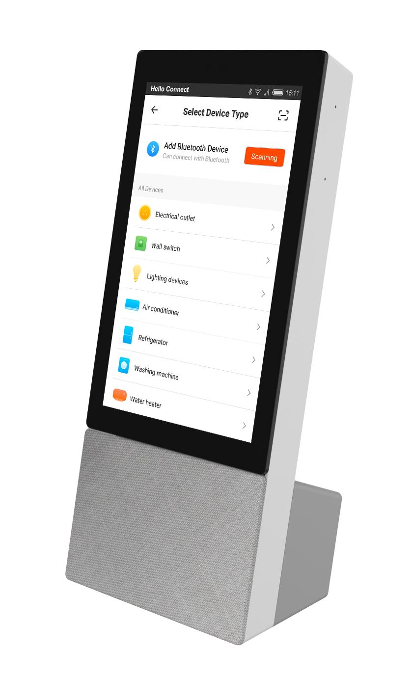 Smart home aansturing via spraak met ARCHOS Hello Connect