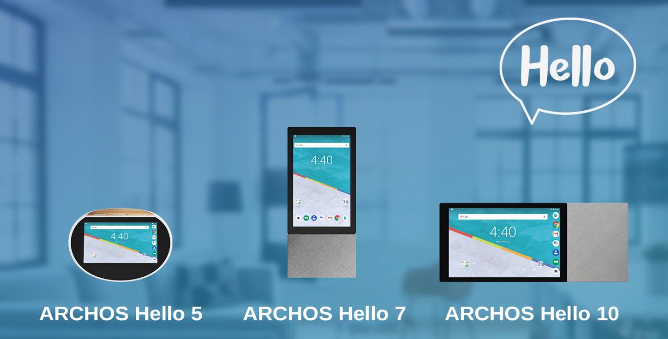 ARCHOS Hello biedt stemgestuurde AI home-assistent met display vanaf 129 euro