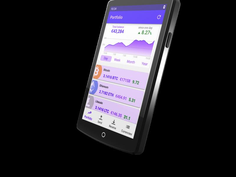 ARCHOS Safe-T Touch: eerste hardware wallet voor crypto-currencies met beveiligde services