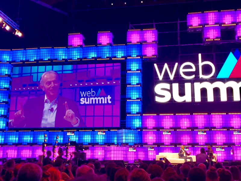 Web Summit 2018: It's a rep!