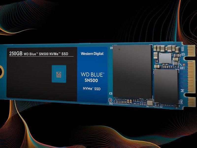 Western Digital introduceert WD Blue SSD met NVMe-protocol