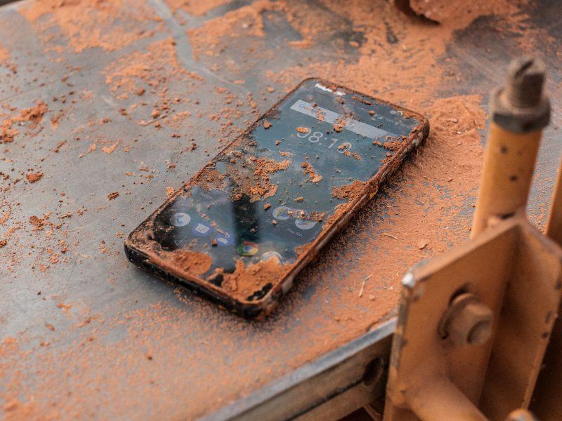 Werkplek is funest voor smartphones
