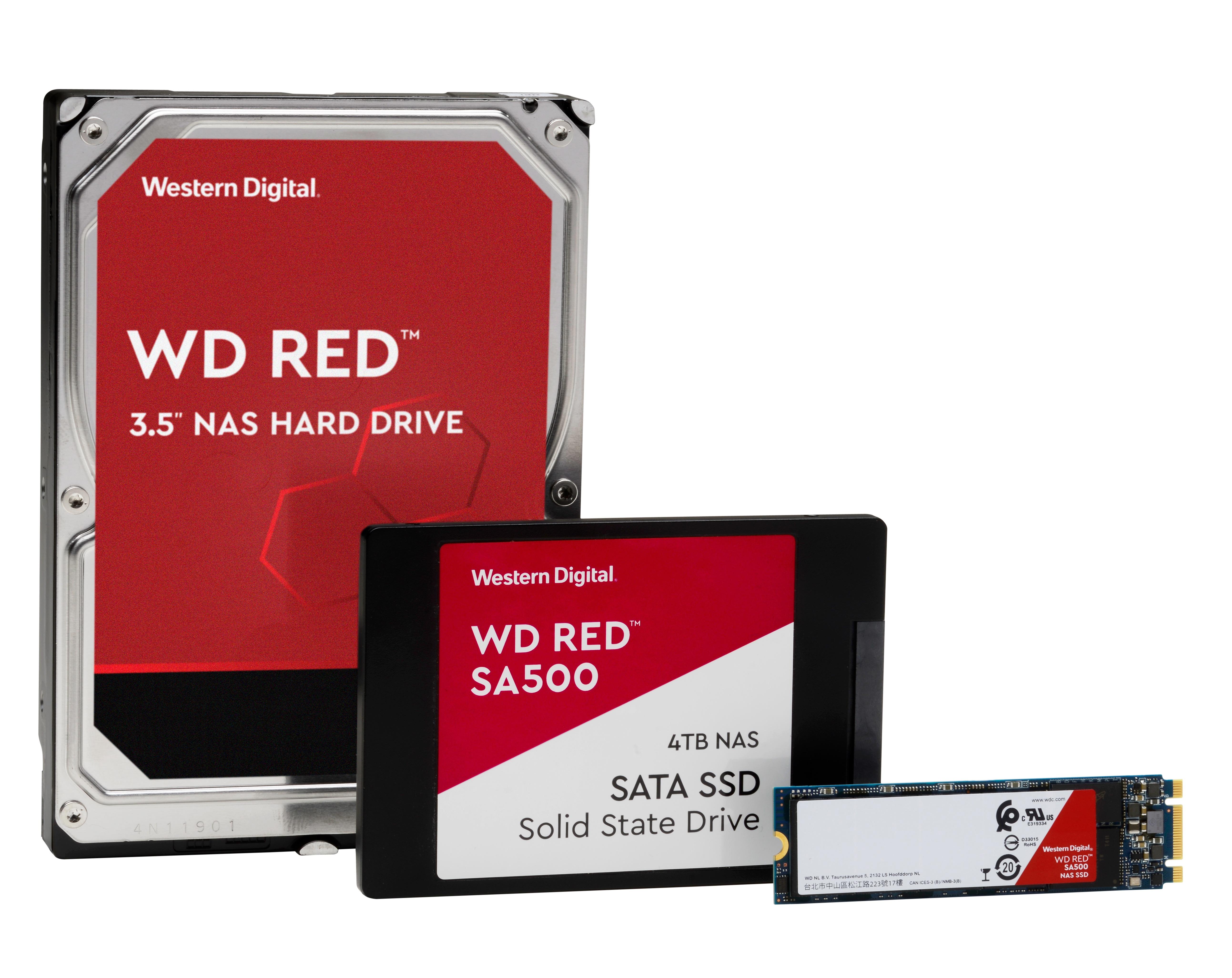 Western Digital introduceert eerste WD Red SSD voor NAS-omgevingen