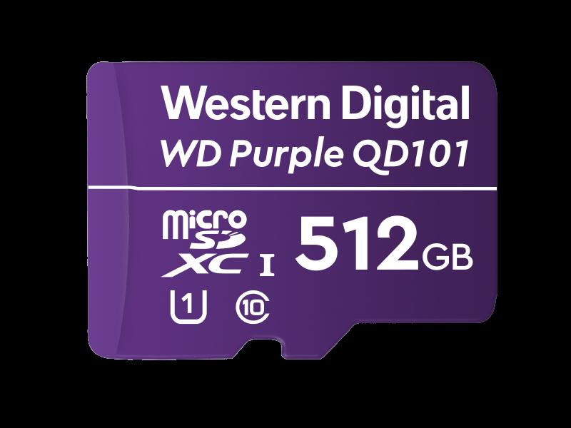 Western Digital levert WD Purple Ultra Endurance microSD-kaart voor AI en 4K smart video