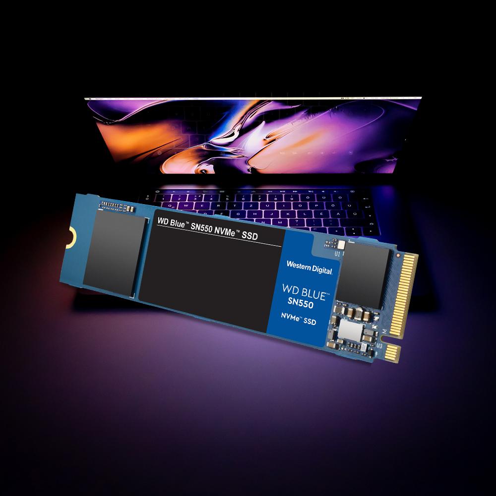 Western Digital's nieuwe WD Blue SSD met NVMe-protocol tot 4x sneller dan SATA SSD