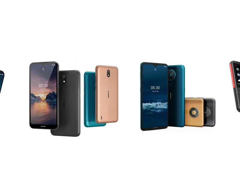 HMD Global introduceert drie nieuwe Nokia-smartphones, waaronder de eerste 5G-smartphone die wereldwijd bruikbaar is, en dataroamingdienst 'HMD Connect'