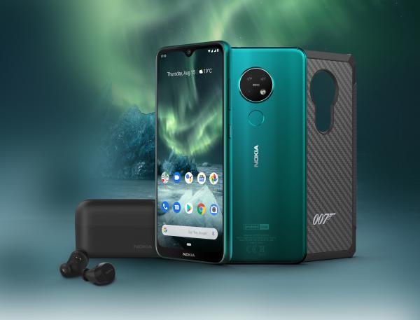 Nokia 7.2 in James Bond-uitvoering met kogelwerende telefoonhoes