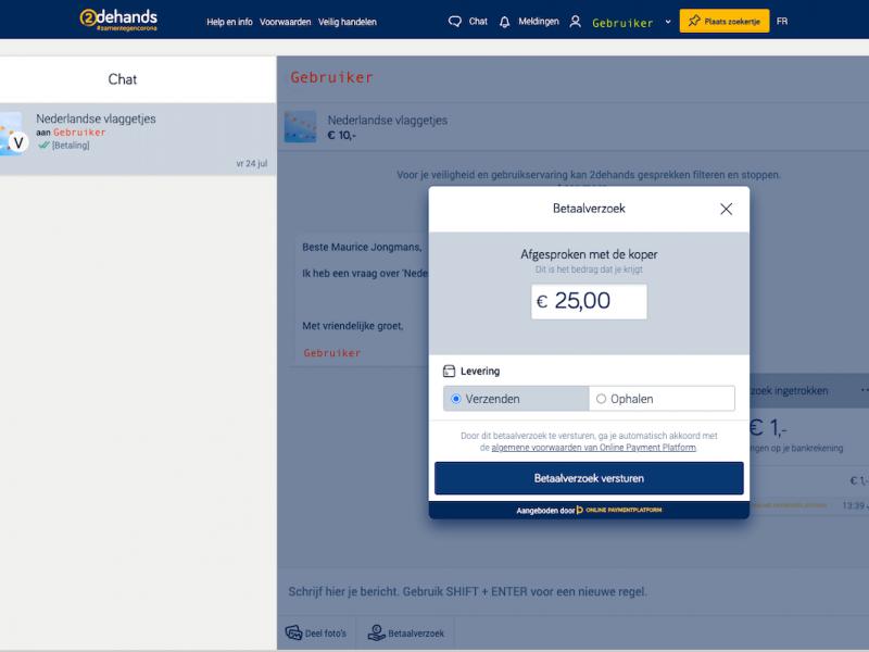 2dehands kiest voor Online Payment Platform als payment service provider