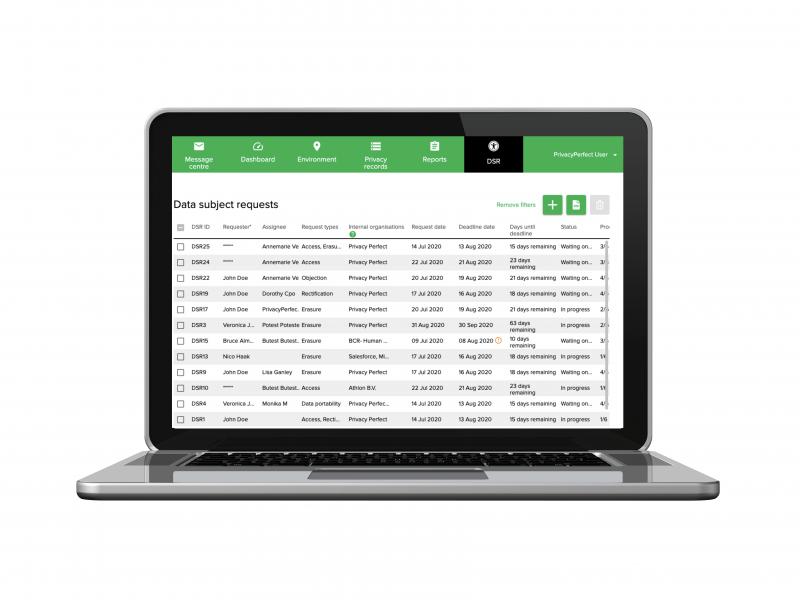 PrivacyPerfect introduceert nieuwe DSR-module voor eenvoudig afhandelen informatieverzoeken