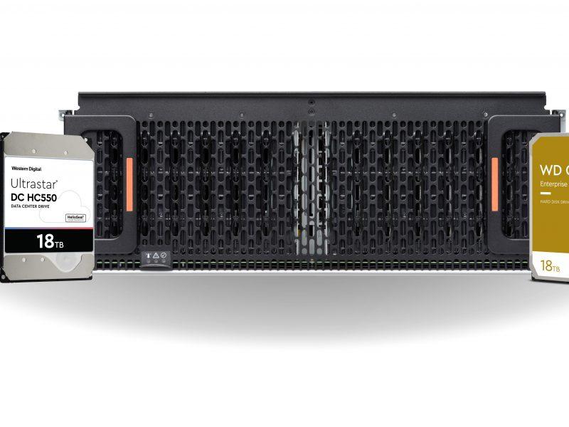 Western Digital vergroot capaciteit enterprise HDD's naar 18TB