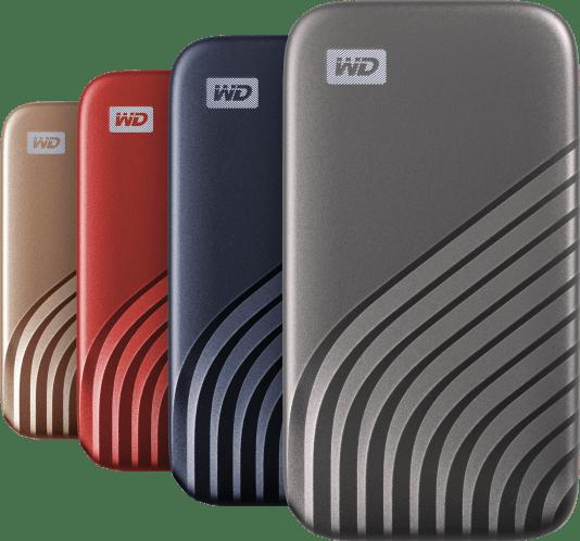 Nieuwe, compacte WD My Passport SSD gebouwd voor snelheid en productiviteit