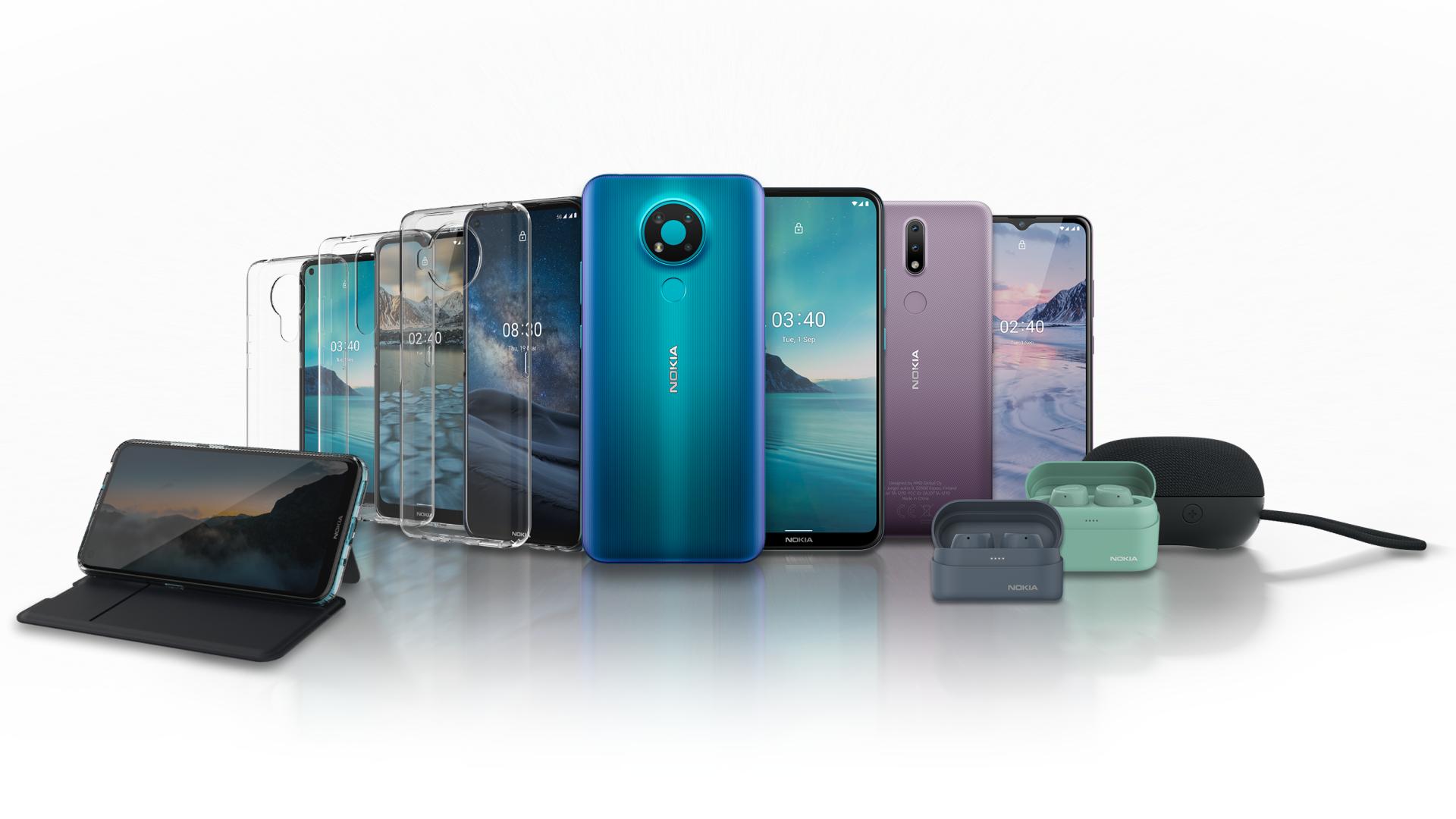 HMD Global lanceert nieuwe Nokia smartphones en accessoirelijn en onthult HMD Connect Pro voor bedrijven
