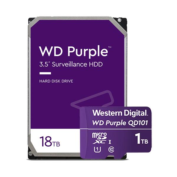 Western Digital introduceert uitgebreide reeks WD Purple smart video-oplossingen voor de groeiende markt AI-ondersteunde bewakingssystemen