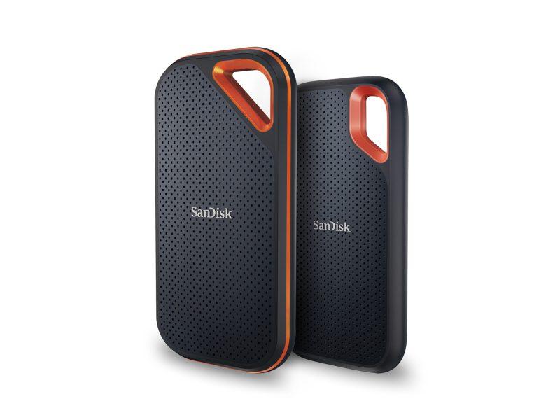 Western Digital maakt SanDisk Extreme Portable SSD's twee keer zo snel