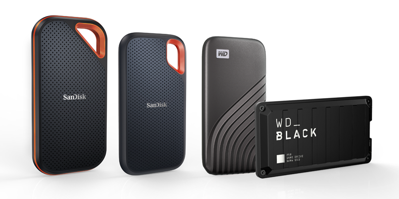 Western Digital vergroot capaciteit van draagbare SSD's naar 4TB