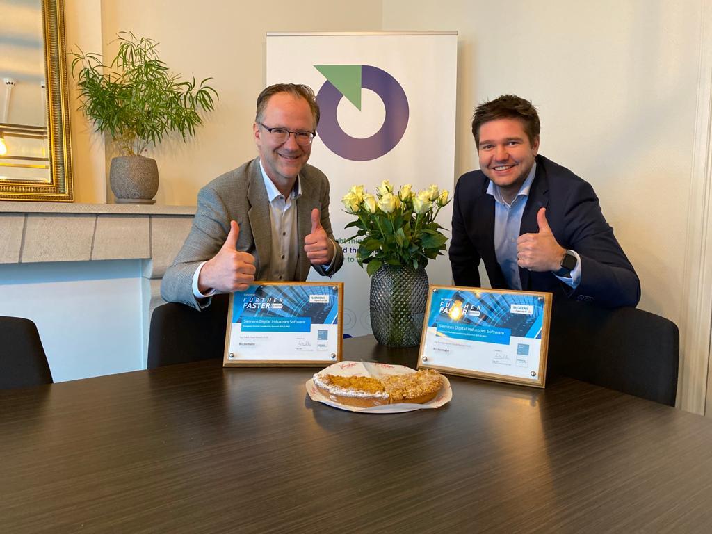 Bizzomate door Siemens Digital Industries Software uitgeroepen tot beste cloud-partner in EMEA