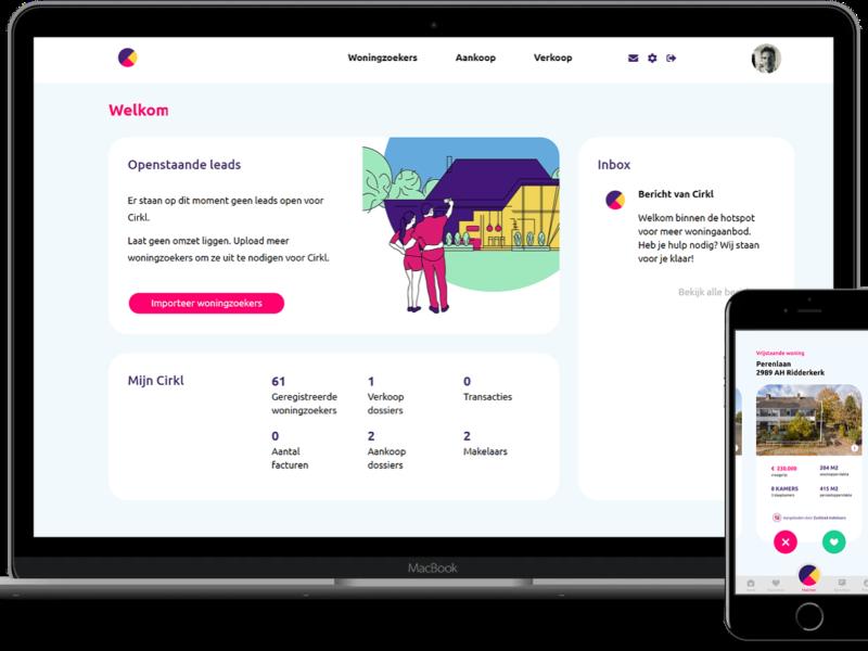 Startup Cirkl introduceert nieuw platform dat onzichtbaar woningaanbod in beeld brengt