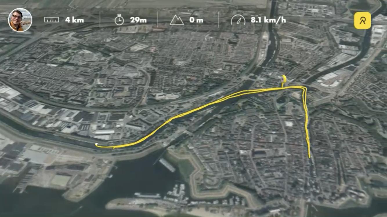 Activity-app Relive brengt outdoor avonturen nog beter in kaart met integratie ArcGIS platform