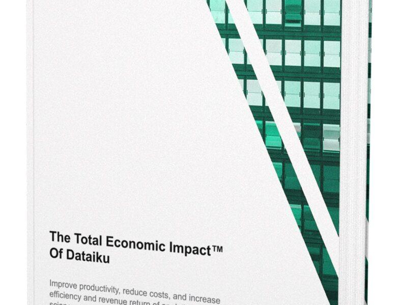 Total Economic Impact-onderzoek: Dataiku levert bedrijven een return-on-investment van 423 procent