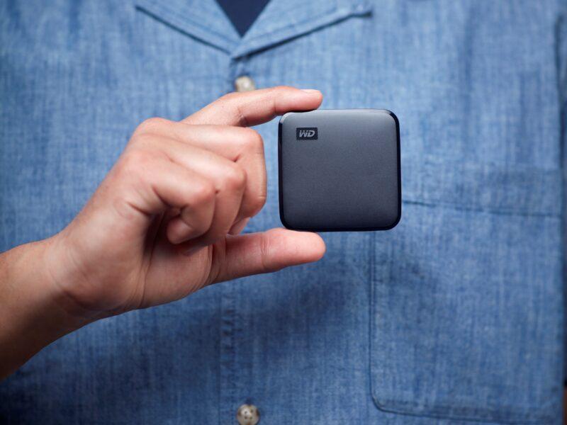 Western Digital introduceert draagbare WD Elements SE SSD